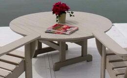 kültéri asztal
